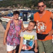Andreas, Martina und Dominik